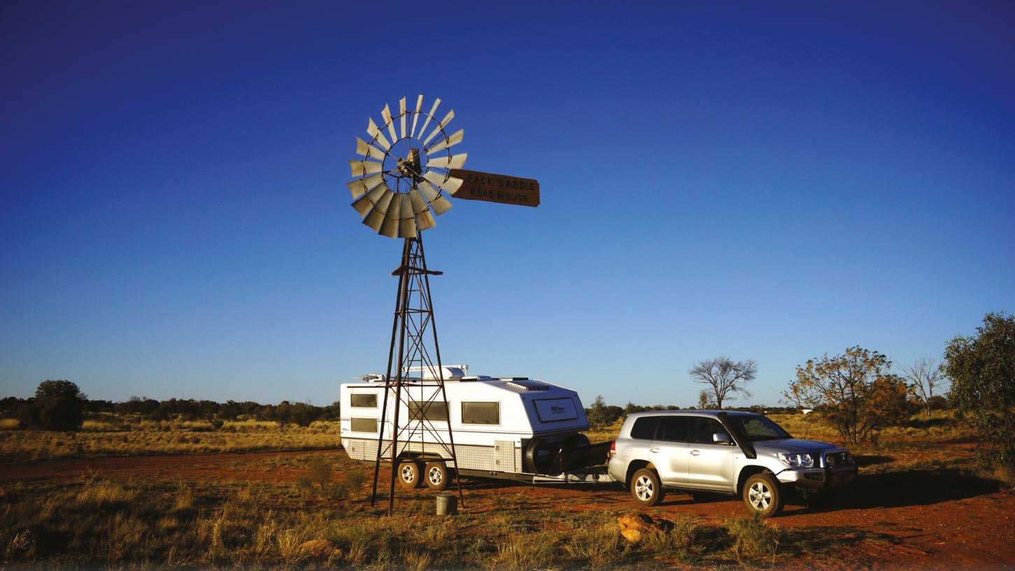 REAL CARAVANS FOR THE OUTBACK